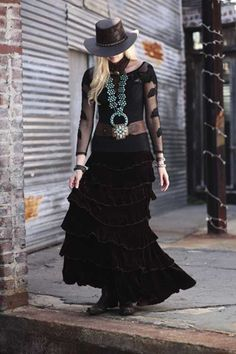 Velvet Wear Princess Skirt Velvet by Marrika Nakk