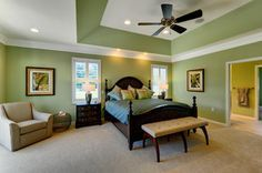 deep angled tray ceiling - Google Search