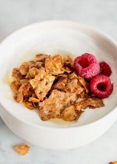 Recipe: Matzo Granola with Vanilla & Almonds — Holiday Recipes from ...