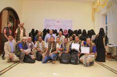#اليمن | اختتام الدورة التدريبية لميسري التواصل المجتمعي بتعز