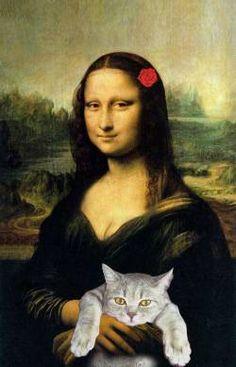Mona Lisa - Mona with her Pet