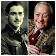 """Richard Todd-British on D-Day (Actor) Interesting Fact: Todd played Howard in the film """"The Longest Day"""", while Todd himself was played by another actor. Richard Todd, Famous Veterans, Parachute Regiment, Joining The Military, Famous Names, Hot Toddy, Military Veterans, Royal Air Force, Sports Stars"""
