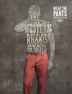 Type Design - Wear the pants!