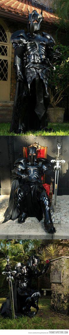 Medieval Batman Armor - What call ye thy n self, kind Sir? Sir Man Bat?
