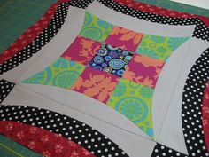 Urban Nine Patch 3 by commonquilts, via Flickr
