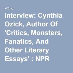 essays critics