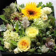 ボックスフラワーアレンジメント   K's flower webshop
