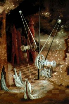 Remedios Varo - Personaje Astral  Beautiful painting