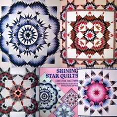 Shining Star Quilts, a book by Judy Martin. These are a few of my quilts from my first Lone Star book in 1987. I am working on a new Lone Star book with even better quilts! Look for it in 2017??--Judy Martin