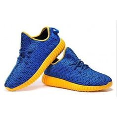 9beeba6449c7 Adidas Yeezy Boost 350 Low Kanye West blue yellow for mens