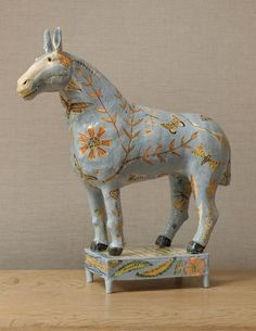 Georgina Warne Horse Signed Ceramic x x x 45 x Horse Sculpture, Sculpture Clay, Animal Sculptures, Ceramic Sculptures, Ceramic Animals, Clay Animals, Ceramic Pottery, Pottery Art, Slab Pottery