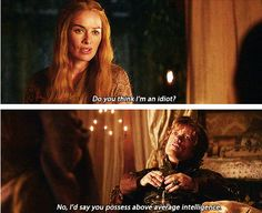 Tyrion to his sister