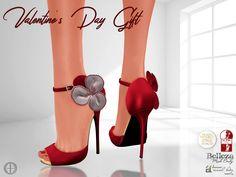 Valentine's Day Vista Heels Red Group Gift by Hilly Haalan