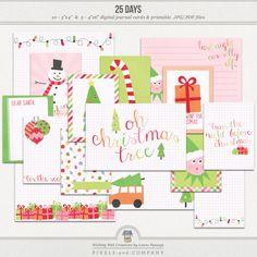 25 Days | Journal Cards