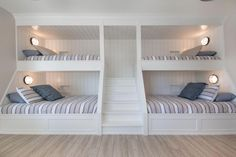Bunkhouse Plans 658018195542963535 - Contemporary Waterfront – Sherwood Custom Homes Source by natachaavaby Queen Bunk Beds, Bunk Bed Rooms, Bunk Beds Built In, Bunk Beds With Stairs, Cool Bunk Beds, Build In Bunk Beds, Bunk Beds For Adults, Cool Beds For Teens, Corner Bunk Beds