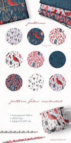Lovebirds handpainted folk graphics by By Lef on Creative Market Lovebirds handpainted folk graphics by By Lef on Creative Market Bird Patterns, Textile Patterns, Print Patterns, Graphic Pattern, Pattern Art, Pattern Fabric, Design Tattoo, Affinity Designer, Guache