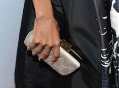 Kerry Washington with a Louis Vuitton clutch - At the Hollywood Film Awards Gala.  (October 2012)