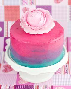 Objetivo: Cupcake Perfecto.: Ains... ¡¡Sueño con Sweetapolita!! (Tarta de chocolate y frambuesa con degradado)