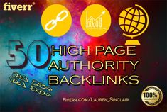 do 50 high page authority backlinks on high domain authority