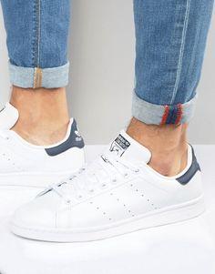 f80ffabdbf6 adidas Originals – Stan Smith – Weiße Sneaker aus Leder