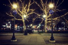 Grand Circus Park in downtown Detroit all lit up in Christmas lights in front of Comerica Park.  #detroit #detroitmichigan #motorcityshooters #depictthed #detroitinsider #igersdetroit #puredetroit #detroitlove #detroit_igers #detroit313 #ilovedetroit #grandcircuspark #comericapark #detroittigers #letsgotigers #tigersbaseball #christmas #christmasinthed #downtowndetroit #rawdetroit #candiddetroit #exploredetroit #visitdetroit #detroitusa #christmasindetroit #nightphotography #night_shotz…