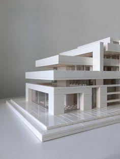 Lego Architecture, Lego Architecture Studio, Harm Bron, Amsterdam - My Lego Archi . Maquette Architecture, Concept Models Architecture, Architecture Jobs, Architecture Model Making, Museum Architecture, Studios Architecture, Futuristic Architecture, Amsterdam Architecture, Landscape Architecture