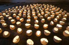 LUFT, ceramic installation by Norvald Hemre