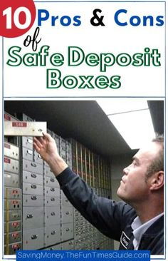 Before storing valuables in a bank lockbox or safety deposit box, read this! 10 pros & cons of safe deposit boxes + What you should and shouldn't keep there