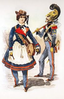I LIKE the things I LIKE!: More Cantinieres of the Sapeurs Pompiers