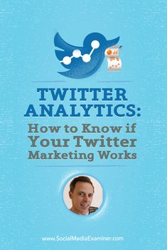 Do you review your Twitter Analytics?  Want to use them to improve your Twitter marketing?  @iancleary is with us to explore what you can learn from the data provided in Twitter Analytics. Via @smexaminer.