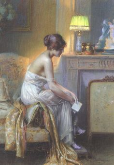 A Moment of Reflection by Delphin Enjolras