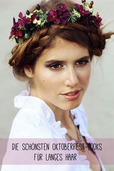 Die schönsten Oktoberfest-Looks für langes Haar. Jetzt auf gofeminin.de