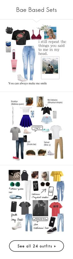 """Bae Based Sets"" by mystical-dimples ❤ liked on Polyvore featuring Hanky Panky, Neutrogena, Casetify, McCoy Design, Converse, Vans, Rebecca Minkoff, PS Paul Smith, La Perla and Bellfield"