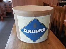 original Vintage Akubra Hat Box with hat insert - deceased estate Akubra Hats, Wearing A Hat, Hat Boxes, Coffee Cans, The Originals, Ebay, Vintage, Sombreros, Australia