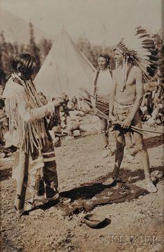 Blackfoot Chief Two Guns, White Calf