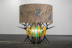 "Jorge Pardo's ""Untitled (Sea Urchin)"""