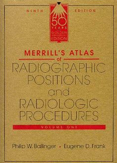 Merrill's Atlas of Radiographic Positions and Radiologic Procedures (3 Volume Set) by Philip W. Ballinger PhD