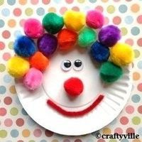 Could be great rodeo clown craft for rodeo day