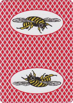 Bee® Bumble Bee Playing Cards