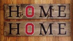 Block O Ohio State Home Sign by CapitalCitySigns on Etsy