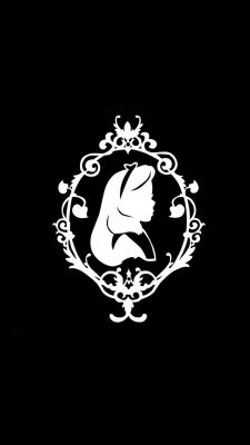 Alice in Wonderland Silhouette vinyl decal Alicia Wonderland, Wonderland Party, Deco Disney, Disney Art, Kirigami, Image Svg, Alice In Wonderland Silhouette, Arte Do Harry Potter, Disney Silhouettes