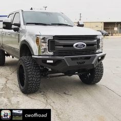 """ReadyLIFT Suspension Inc. on Instagram: """"Repost from @cwoffroad using - Perfection.  2019 F250 6.5"""" @readylift on 37"""" @coopertire and 22"""" @hostilewheels front and rear along with…"""" Lifted Ford, Instagram Repost, Monster Trucks"""