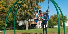Toddler Swings and Inclusive Playground Swings - for Schools & Parks