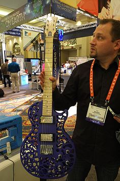 Maybe your next guitar ... 3D printed