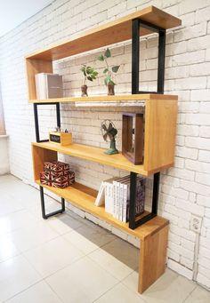 Line bookchest : 선반 by Design-namu