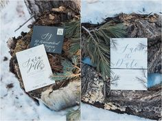 Winter elopement in Flaggstaff, Arizona | Jen Jinkens Photography