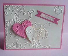 Stampin Up handmade greeting card love valentines day wedding anniversary PY LOT #ValentinesDay
