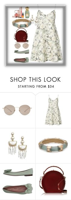 """""""Untitled #233"""" by pesanjsp ❤ liked on Polyvore featuring Gucci, Zimmermann, BaubleBar, RED Valentino, Bertoni and Josie Maran"""