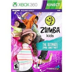 MAJESCO Zumba Kids DVDROM  Xbox 360  O1809  -- You can get additional details at the image link. Note:It is Affiliate Link to Amazon.