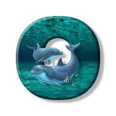 Buchstabe - Letter O Monogram Alphabet, Dolphins, Initials, Ocean, Symbols, Illustration, Crafts, Dolls, Alphabet